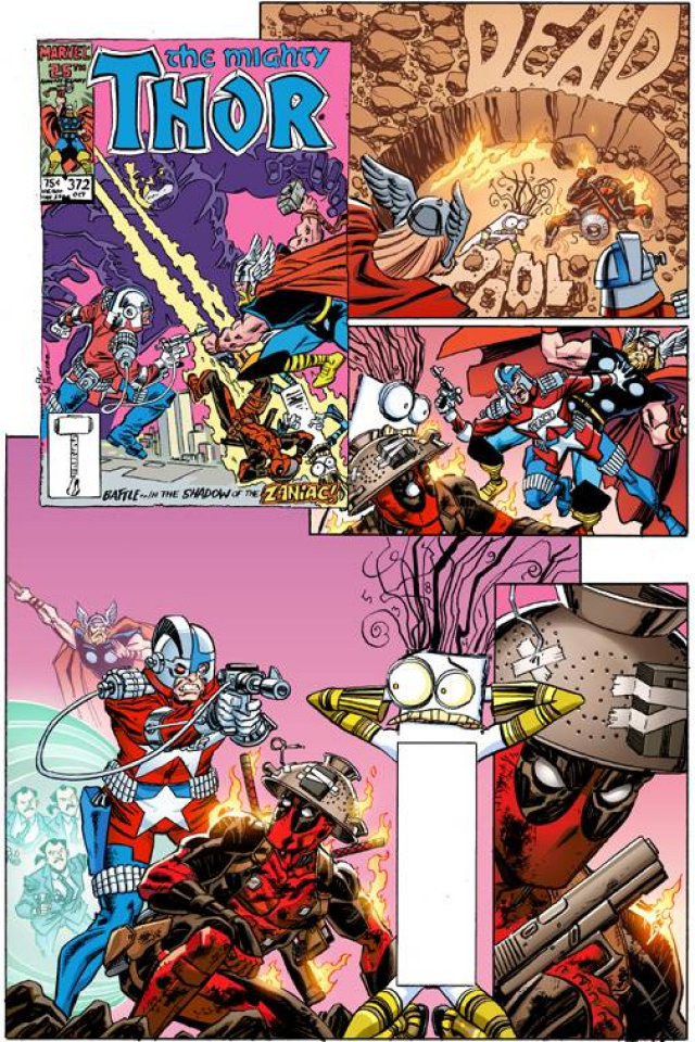 Deadpool #14 (Koblish Secret Comic Cover)