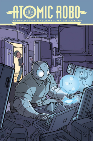 Atomic Robo: The Spectre of Tomorrow #1 (Wegener Cover)