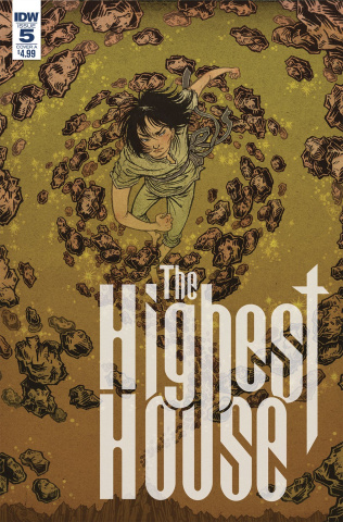 The Highest House #5 (Shimizu Cover)
