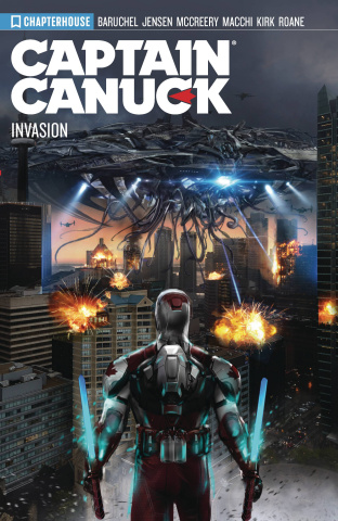 Captain Canuck Vol. 4: Season 4 - Invasion