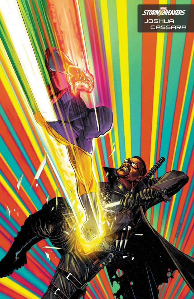 Heroes Reborn #1 (Cassara Stormbreakers Cover)