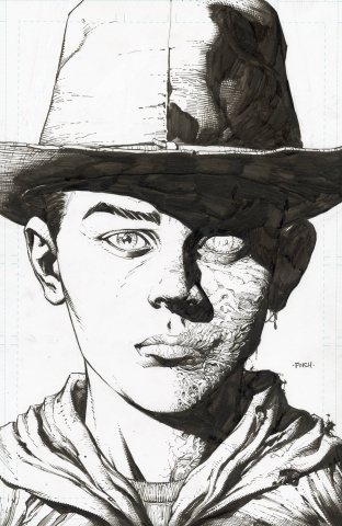 The Walking Dead Deluxe #4 (Finch & McCaig 25 Copy Raw Cover)