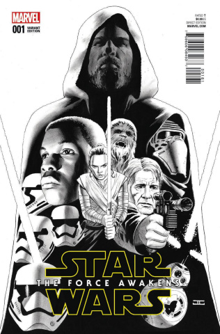 Star Wars: The Force Awakens #1 (Cassaday Sketch Cover)
