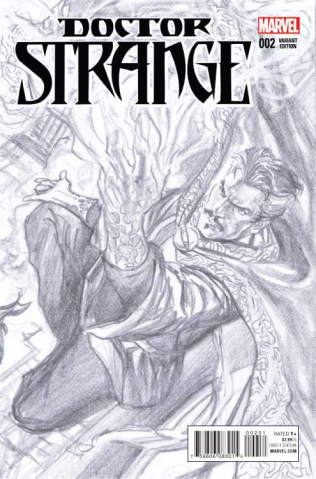 Doctor Strange #2 (Ross Sketch Cover)