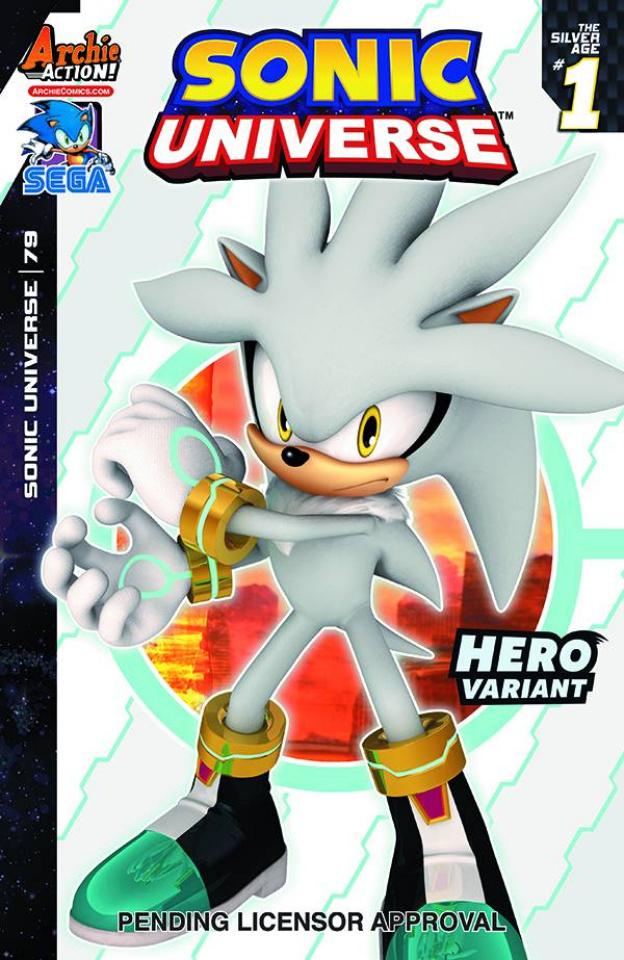 Sonic Universe #79 (Sega Cover)