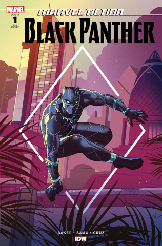 Marvel Action: Black Panther #1 (10 Copy Baker Cover)