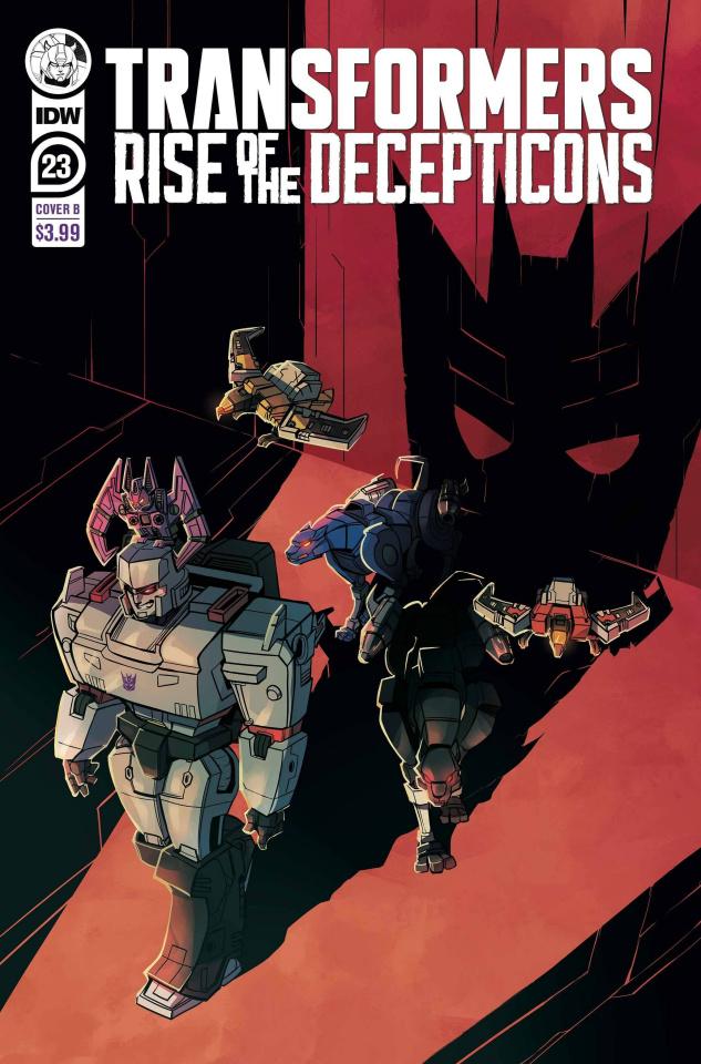The Transformers #23 (Baumgartner Cover)