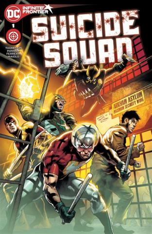 Suicide Squad #1 (Eduardo Pansica Cover)