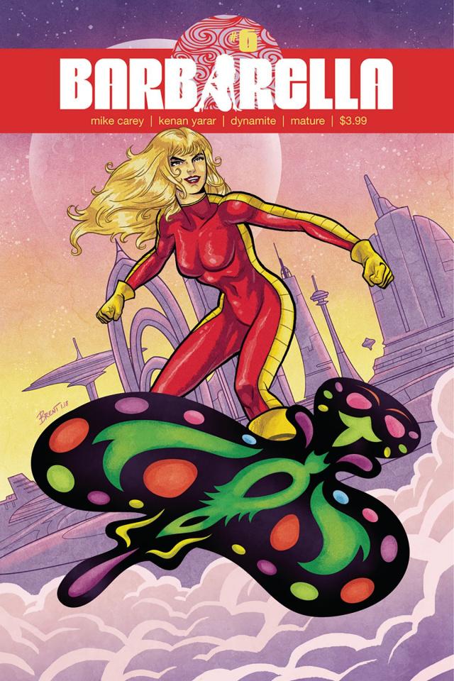 Barbarella #6 (Schoonover Cover)