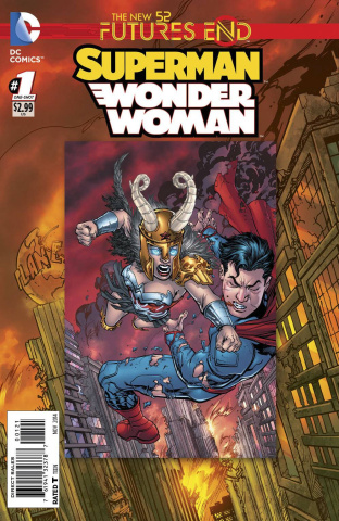 Superman / Wonder Woman: Future's End #1 (Standard Cover)