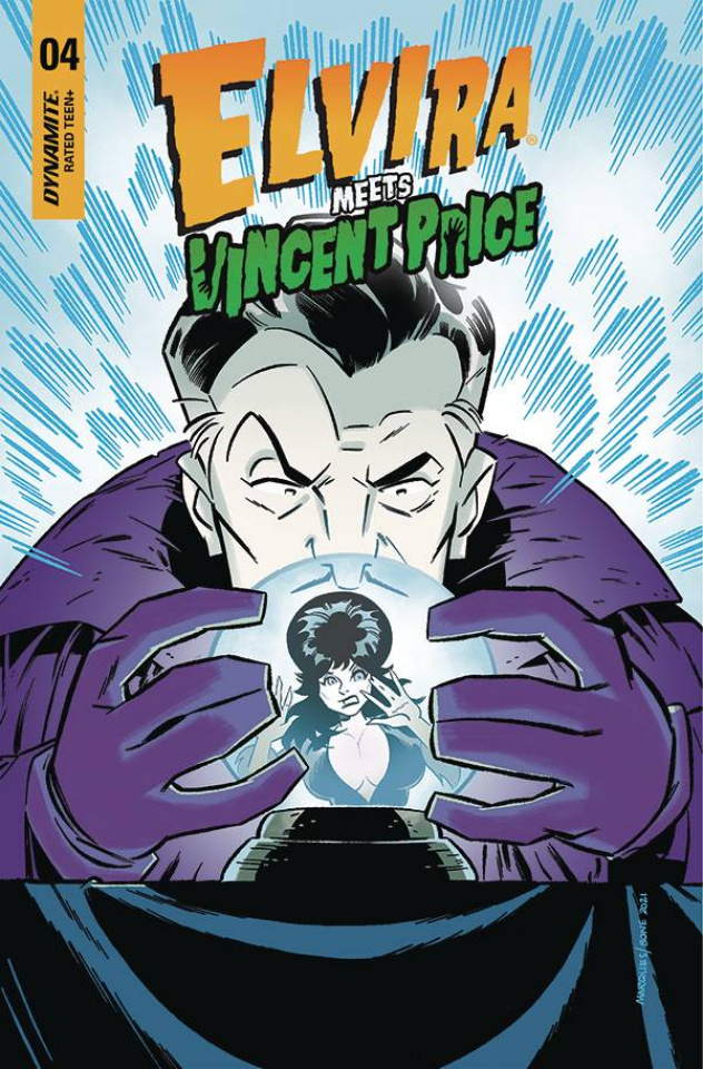 Elvira Meets Vincent Price #4 (Marques & Bone Cover)