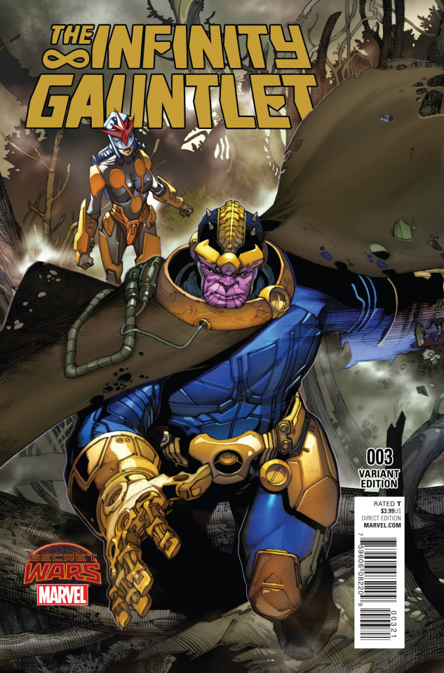The Infinity Gauntlet #3 (Bianchi Cover)
