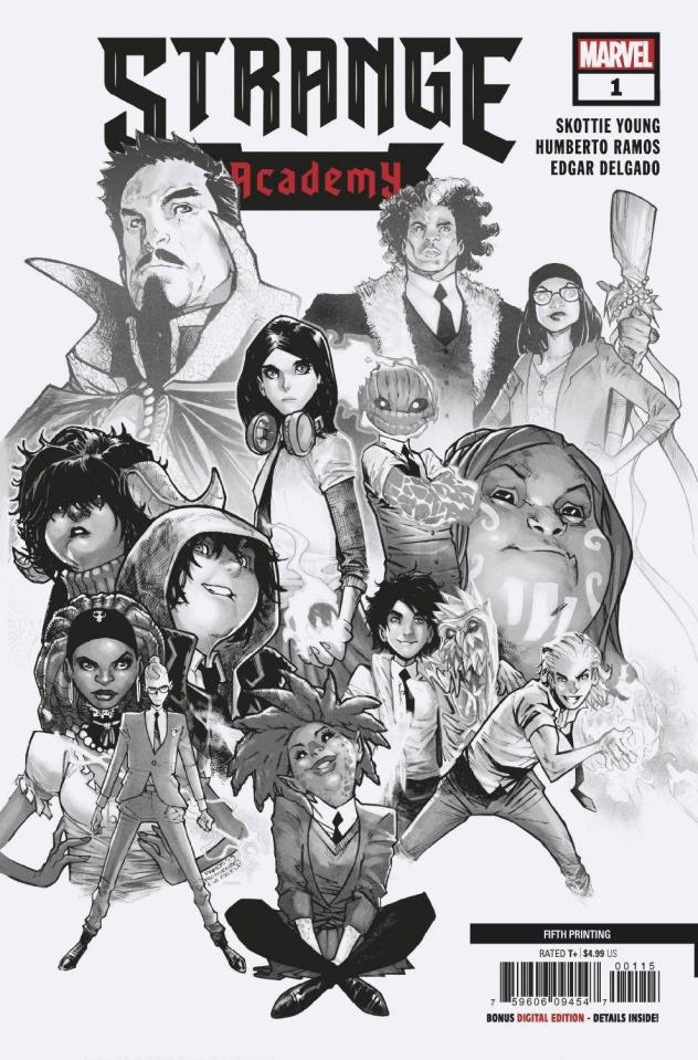 Strange Academy #1 (5th Printing)