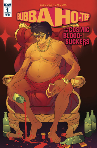 Bubba Ho-Tep and The Cosmic Blood-Suckers #1 (Rivas Cover)