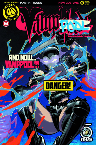 Vampblade #9 (Winston Young Risque Cover)