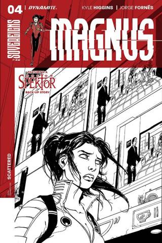 Magnus #4 (10 Copy Camuncoli B&W Cover)