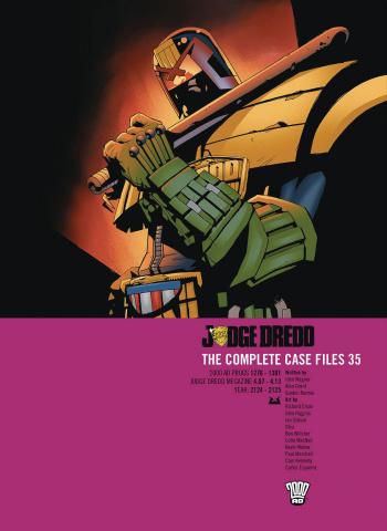 Judge Dredd: The Complete Case Files Vol. 35