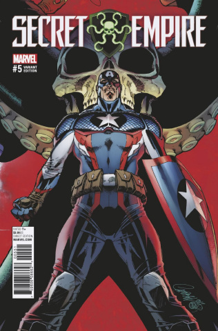 Secret Empire #5 (Campbell Cover)