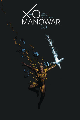 X-O Manowar #50 (10 Copy Zdarsky Cover)