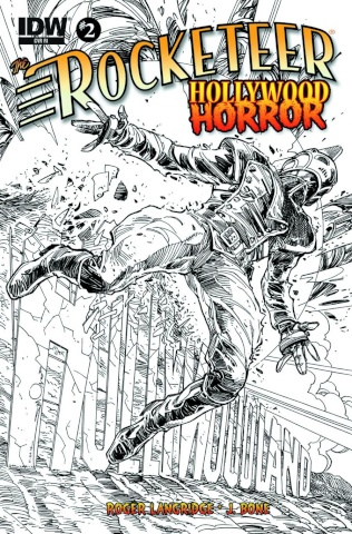 The Rocketeer: Hollywood Horror #2 (10 Copy Cover)