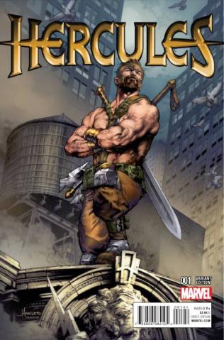 Hercules #1 (Anacleto Cover)