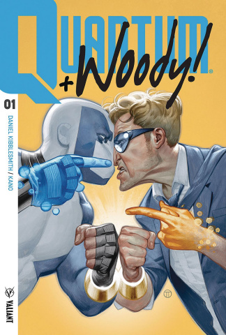 Quantum & Woody #1 (Tedesco Cover)