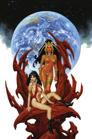 Vampirella / Dejah Thoris #5 (10 Copy Jusko Virgin Cover)