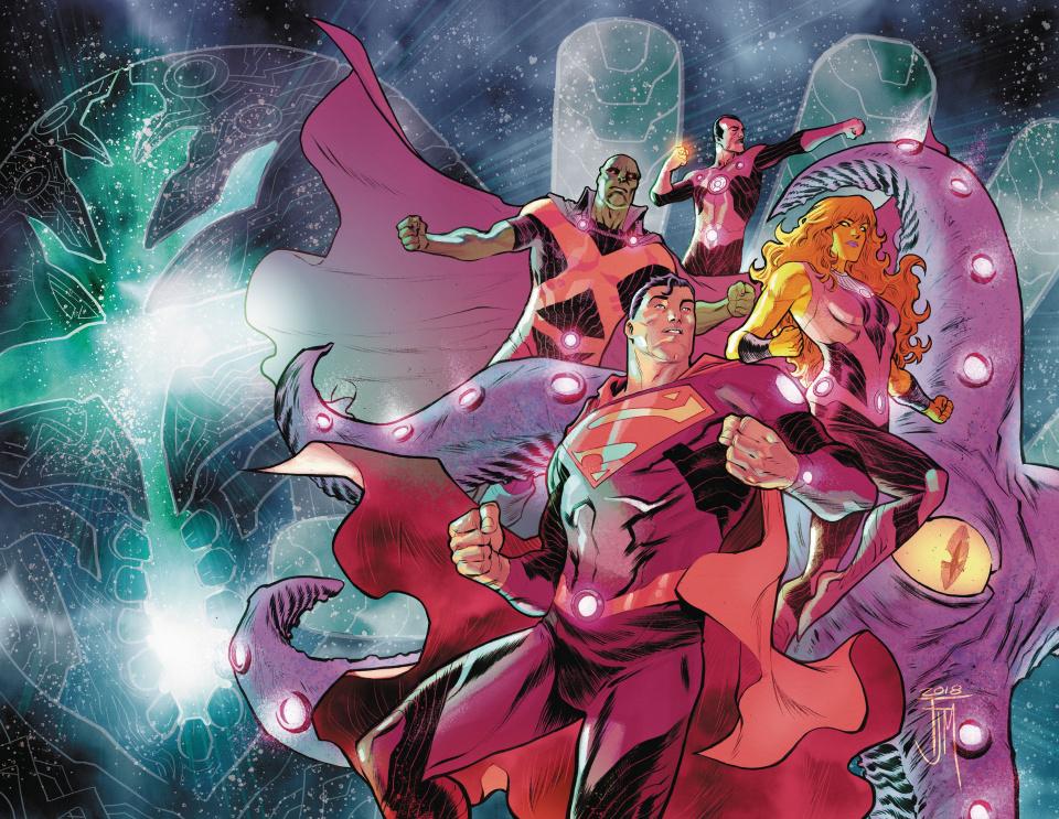 Justice League: No Justice #1