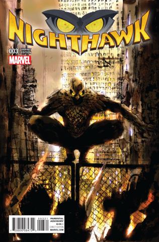 Nighthawk #3 (Grant Cover)