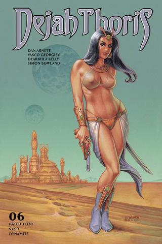 Dejah Thoris #6 (Linsner Cover)