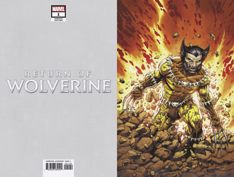 Return of Wolverine #1 (Mcniven Fang Costume Virgin Cover)