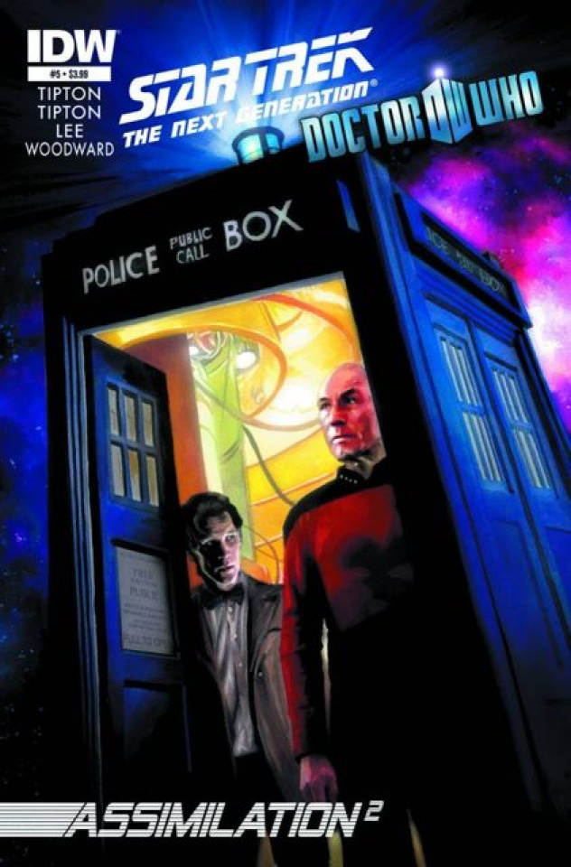 Star Trek: The Next Generation/Doctor Who - Assimilation #5