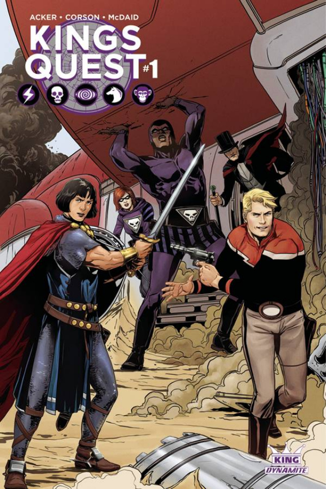 Kings Quest #1 (Laming Cover)