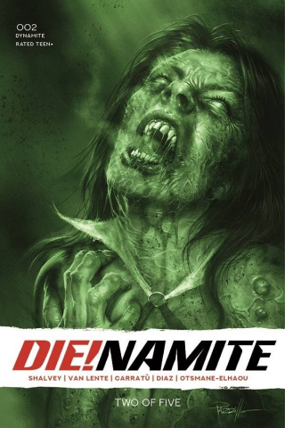 DIE!namite #2 (21 Copy Parrillo Tint Cover)