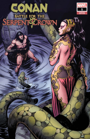 Conan: Battle for the Serpent Crown #1 (Buscema Hidden Gem Cover)
