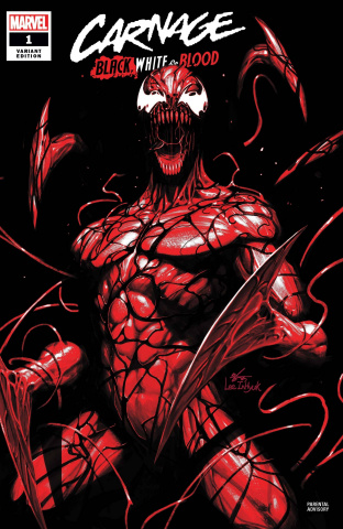 Carnage: Black, White, and Blood #1 (Inhyuk Lee Cover)
