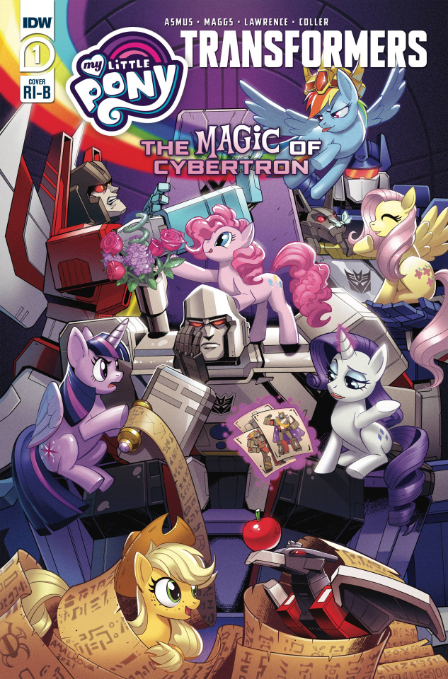 My Little Pony / The Transformers II #1 (25 Copy Anna Malkova Cover)