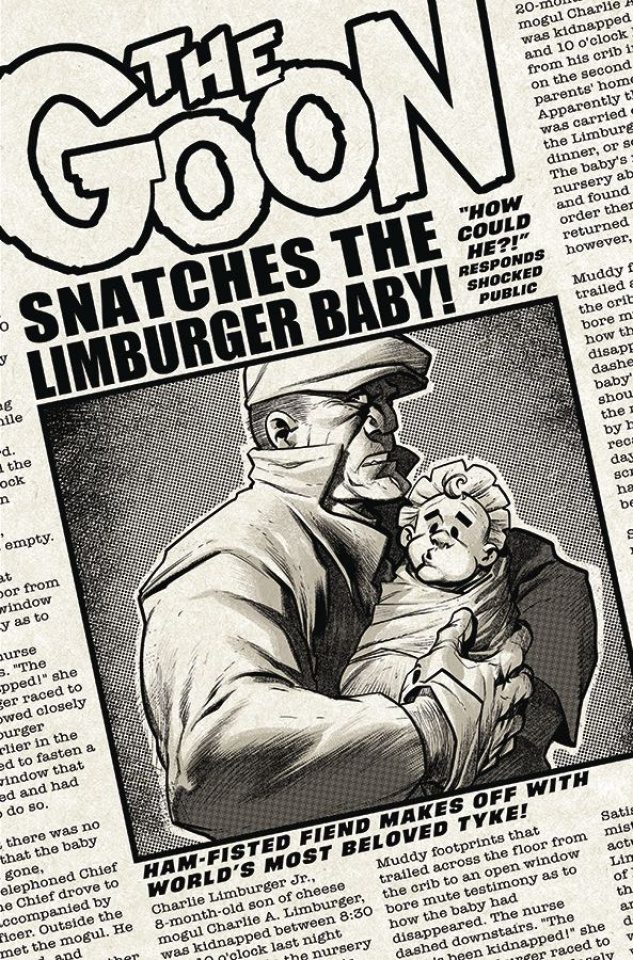 The Goon #7 (Powell Cover)