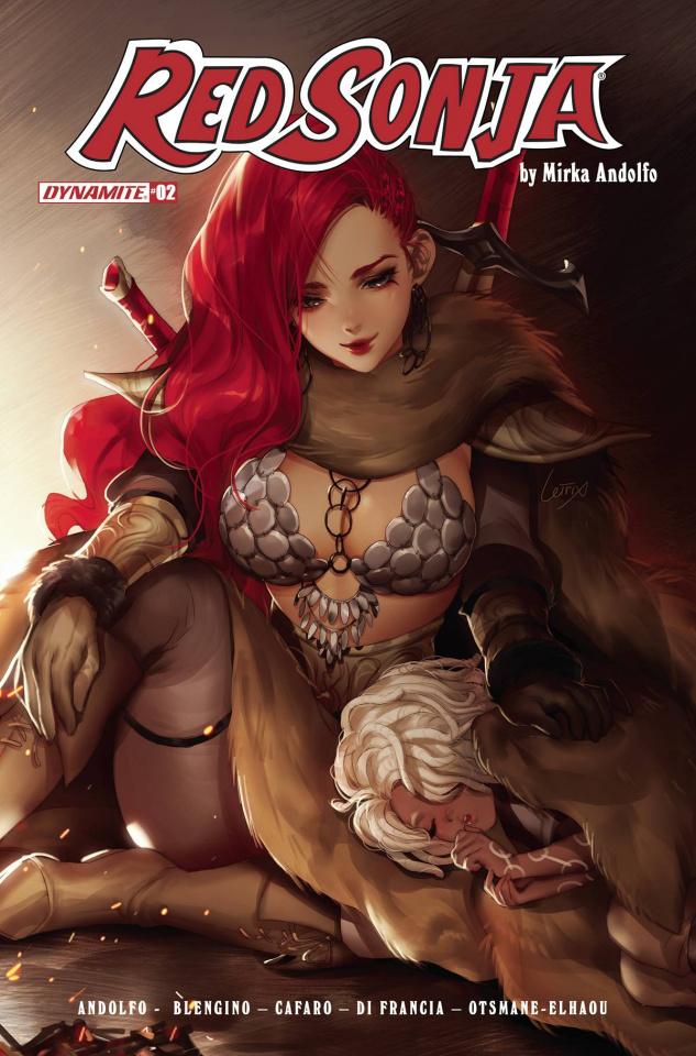 Red Sonja #2 (Bonus Li Original Art Cover)