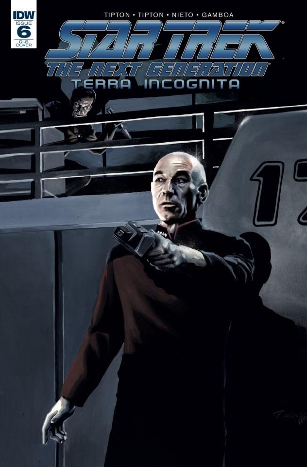 Star Trek: The Next Generation - Terra Incognita #6 (25 Copy Woodward Cover)