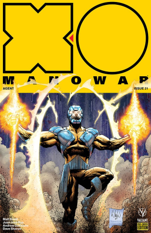X-O Manowar #21 (Pre-Order Bundle Cover)