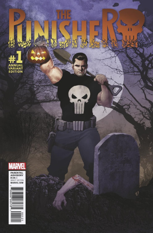 The Punisher Annual #1 (Olivetti Cover)