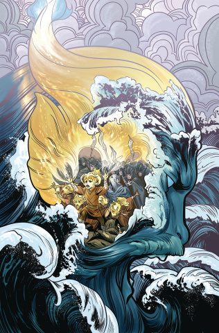 Beneath the Dark Crystal #11 (Dewey Cover)