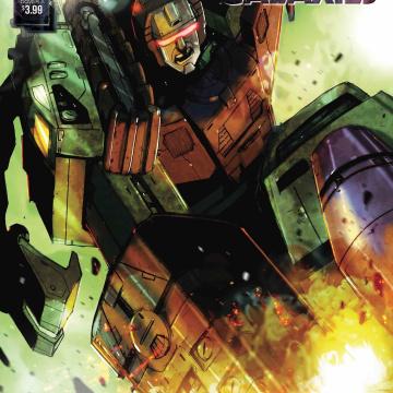 The Transformers: Galaxies #4 (Ramondelli Cover)