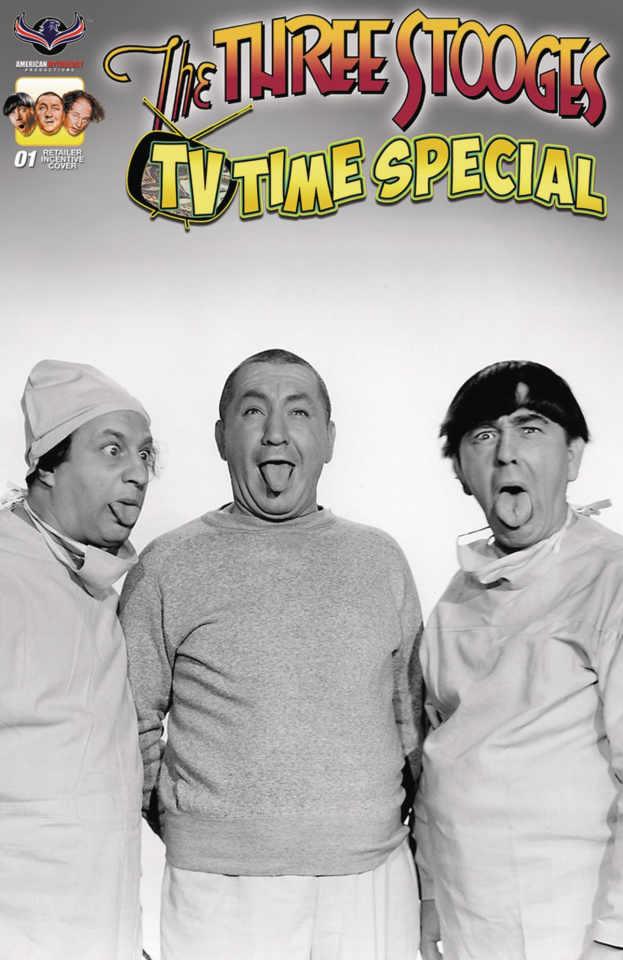 The Three Stooges: TV Time Special (3 Copy Incv B/W Photo Cover)