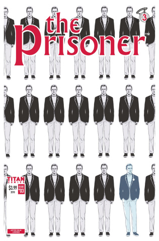 The Prisoner #3 (Lorimer Cover)