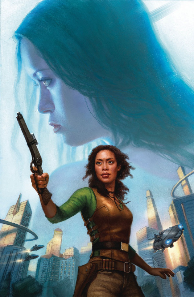Serenity: No Power in the 'Verse #4 (Santos Cover)