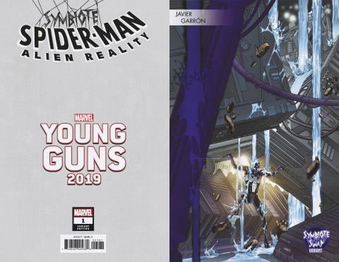 Symbiote Spider-Man: Alien Reality #1 (Garron Young Guns Cover)