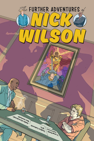 The Further Adventures of Nick Wilson #2 (Woods Cover)