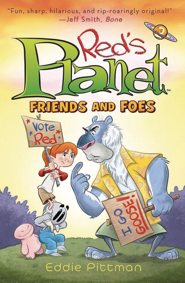 Red's Planet Vol. 2: Friends and Foes